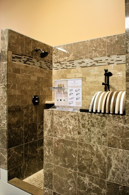 In Store Marble Shower Traditional Bathroom Indianapolis By Carpets Plus Color Tile
