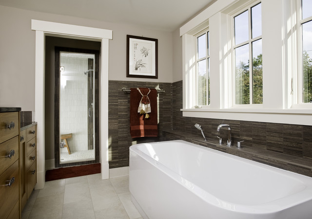incredibly green home of chevy chase contemporary-bathroom