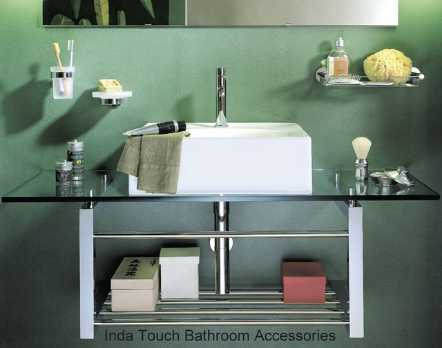 Inda Touch Bathroom Accessories Contemporary Bathroom