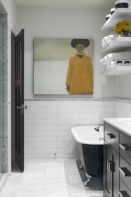 Indian Grove Bathroom Midcentury Bathroom Toronto By Palmerston Design Consultants