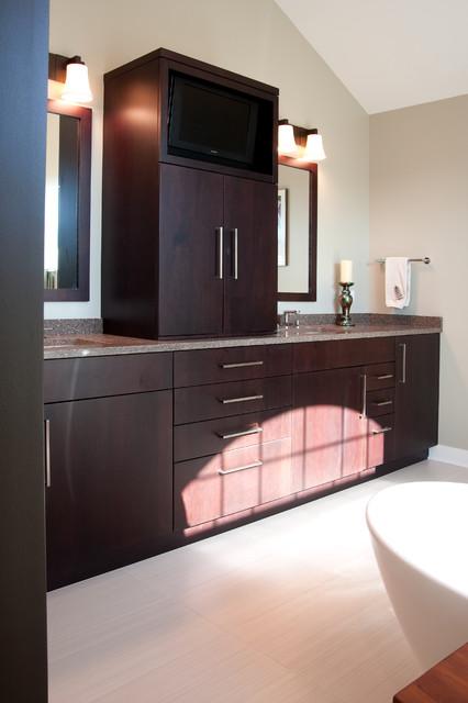 Indian Head Park Master Bath contemporary-bathroom