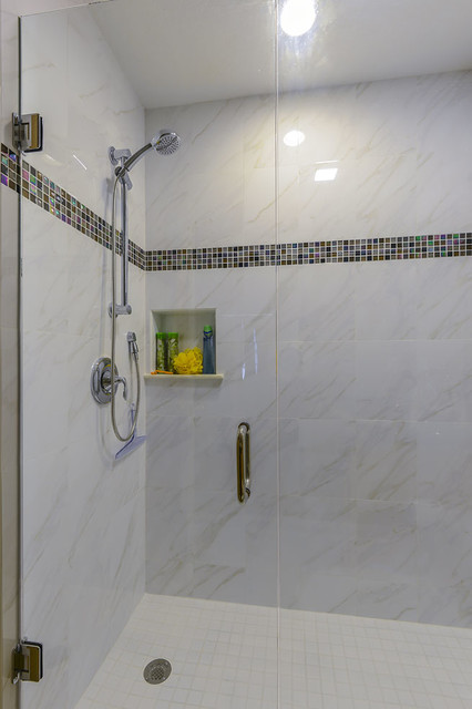 Indian shores shower remodels contemporary bathroom other metro by van selow design Simple bathroom design indian