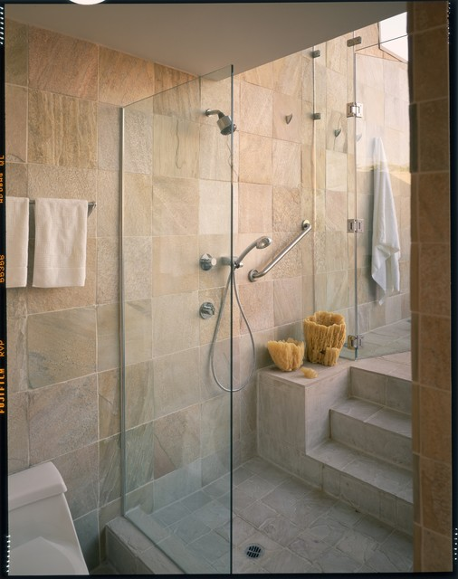 indoor/outdoor bathing - contemporary - bathroom - los angeles