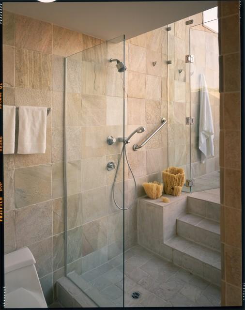 indoor/outdoor bathing - contemporary - bathroom - los angeles