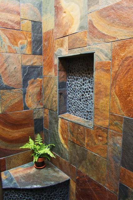 indoor outdoor showers tropical bathroom hawaii by