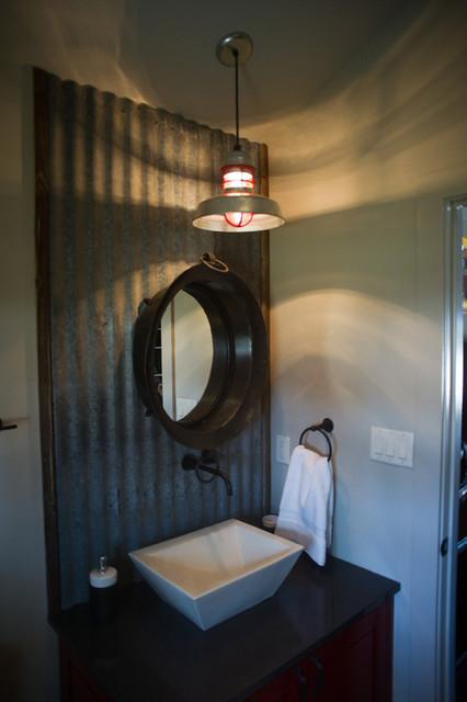 Jewel & Ty Murray industrial-bathroom