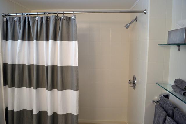 Inexpensive basement bathroom remodel traditional for Bathroom 94 percent