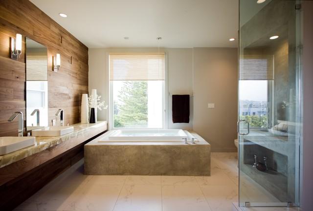 Gentil Infiinity Tub Oasis   Bath Crashers Contemporary Bathroom