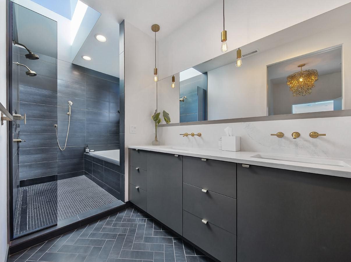 Infil L Bathroom In Portland Oregon Modern Bathroom Portland By User Houzz