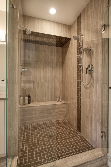 Wood Look Tile In Shower WB Designs - Wood Look Tile In Shower WB Designs