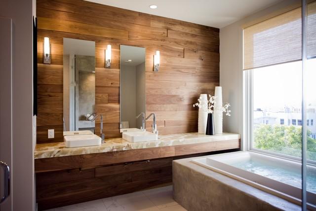 Infinity Tub Oasis   Bath Crashers Contemporary Bathroom
