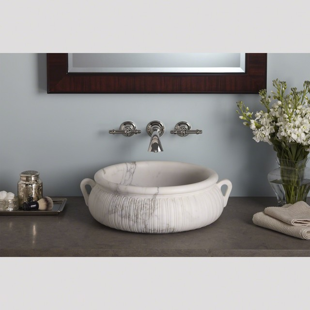 Inigo by michael s smith collection by kallista traditional bathroom chicago by studio41 for Studio41 home design showroom southside chicago