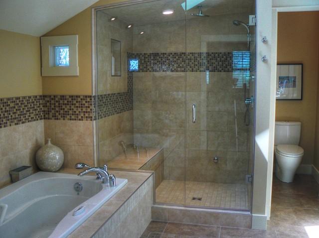 Inner City Family Home traditional-bathroom