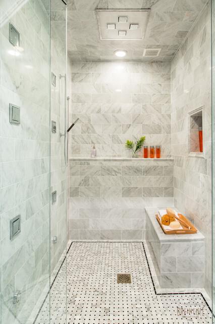 Innovation House 2013 - Master Shower transitional-bathroom