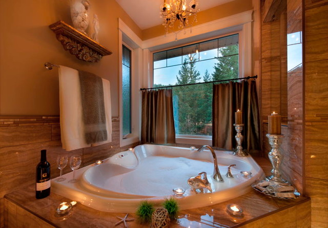 Inspiration Homes (staging from Olive Tree Designs) traditional-bathroom