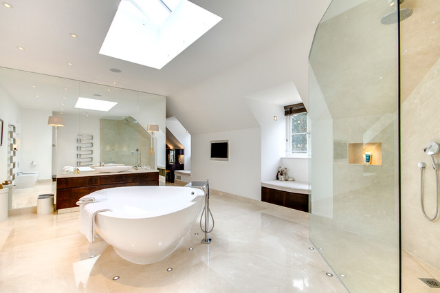 Inspirational Kitchens And Bathrooms Contemporary Bathroom