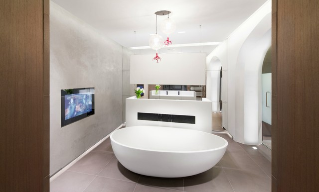 Awesome Get Ready To Rejuvenate In A Spalike Retreat, Courtesy Of Some Strategic Lighting! Just Because Bathrooms Tend To Be Smaller Spaces In The Home Doesnt Mean They Should Be Any Less Dramatic When It Comes To Light And Shadow In