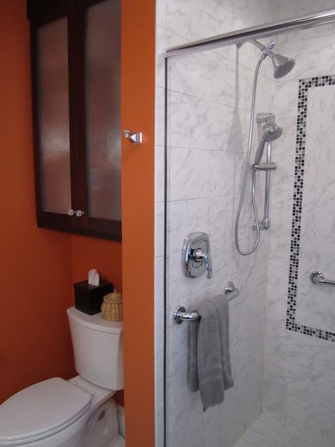 Inspired West Hartford Bath Cherry And Carrara Contemporary Bathroom Bridgeport By