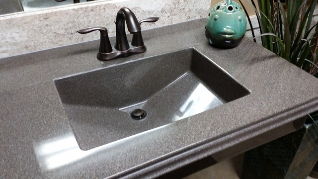 integrated bathroom sink and countertop integrated countertop sinks 23565