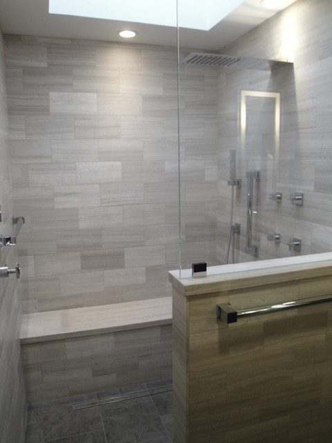 Intellectual In Irvine Kitchen And Master Bathroom Remodel Contemporary Bathroom Other