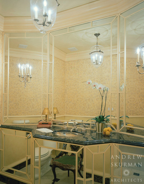 Interior Architecture in the French Style traditional-bathroom