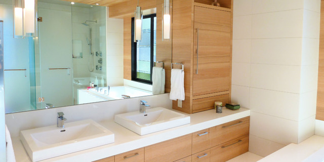 Interior Bath contemporary-bathroom