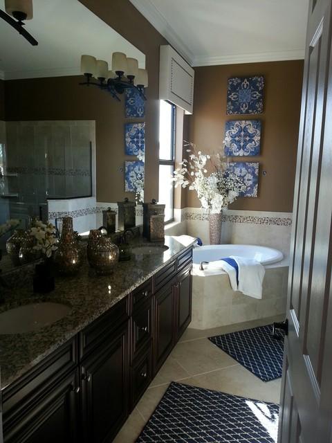 Interior design by janet graham baer 39 s furniture naples for Bathroom decor naples fl