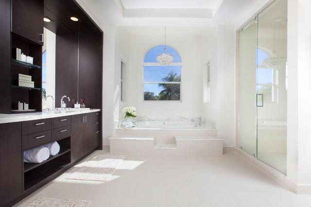 Ft. Lauderdale Interior Design - Contemporary Comfort contemporary-bathroom