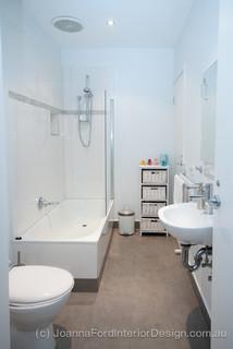 Interior Design Project Smith Street St Kilda Melbourne Transitional Bathroom