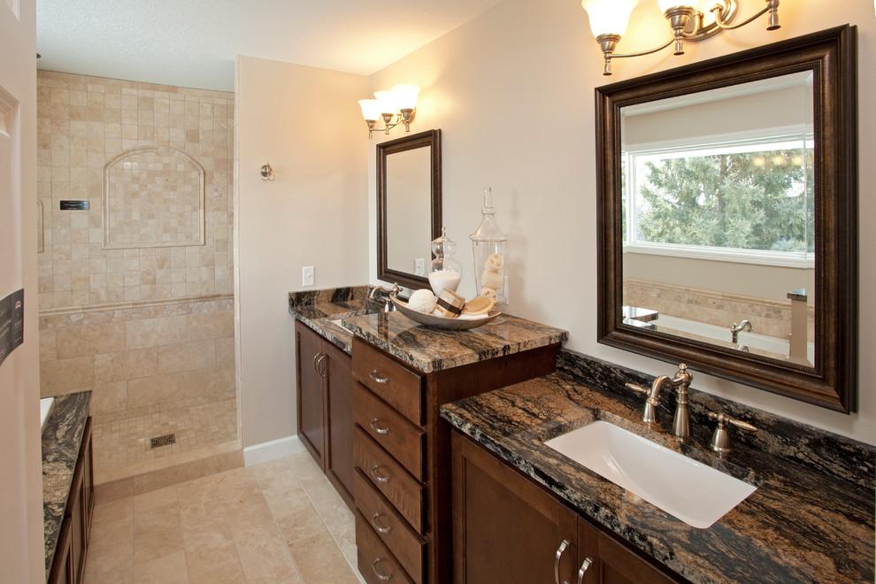 Black And Tan Bathroom Houzz