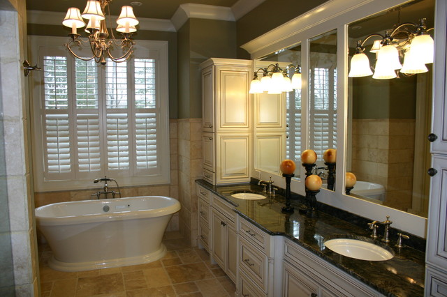 Interior details traditional bathroom other metro for Bath remodel knoxville tn