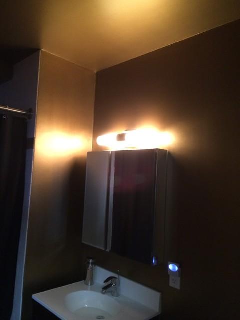 Staten island modern bathroom new york by paint power for Bathroom remodel staten island