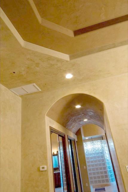 interior plaster decorative finishes mediterranean bathroom phoenix by volterra