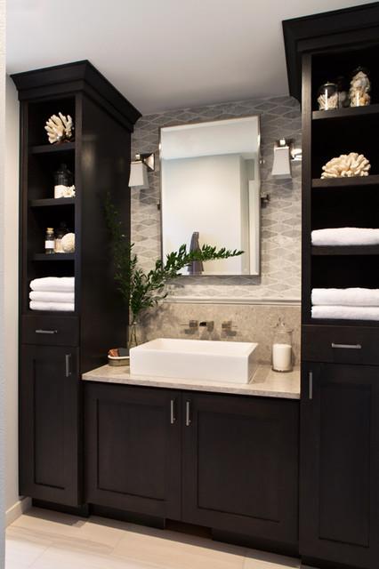 Interior Remodel Portland Oregon Transitional Bathroom Portland By Nordby Design Studio