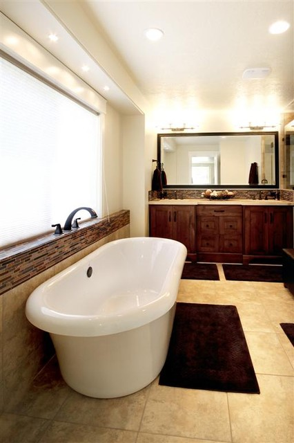 Interior renovation on 1980 39 s built home traditional for 1980s bathroom decor