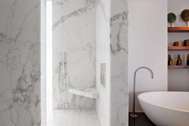 Interior shots modern-bathroom
