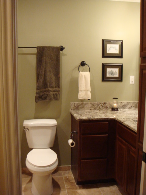 Interior small bath traditional bathroom houston for Paint for small bathrooms