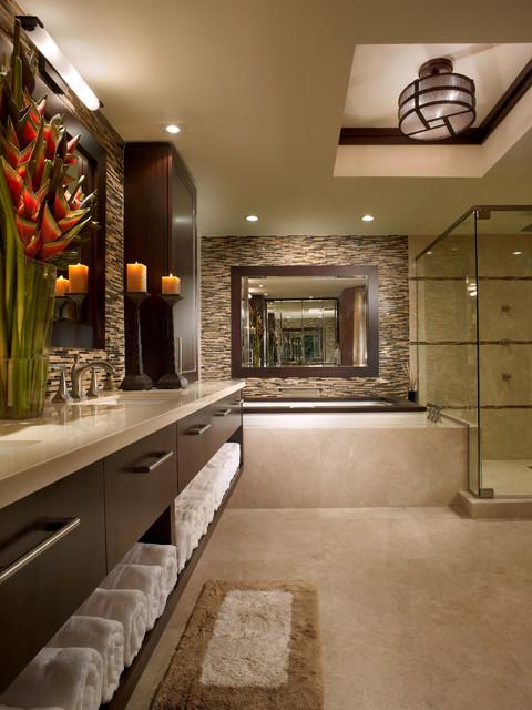 Interiors by steven g asian bathroom miami by for Steven g interior designs