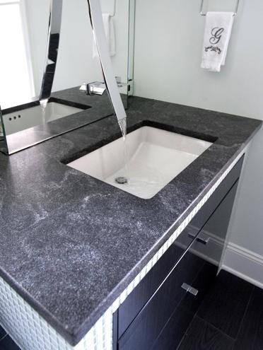 Interiors- Countertops contemporary-bathroom