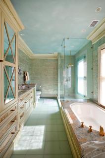 interiors kolonialstil badezimmer san francisco. Black Bedroom Furniture Sets. Home Design Ideas
