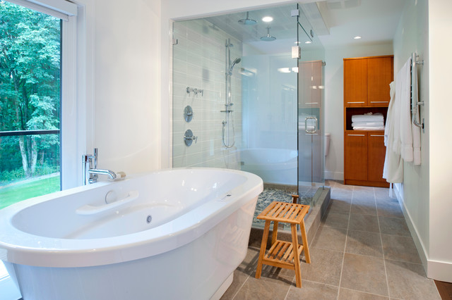 Interiors modern bathroom vancouver by revival for Bedroom furniture 70123