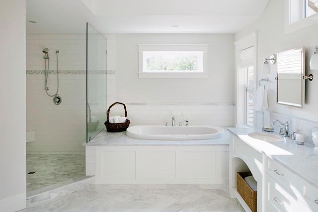 Interiors Traditional Bathroom Vancouver By