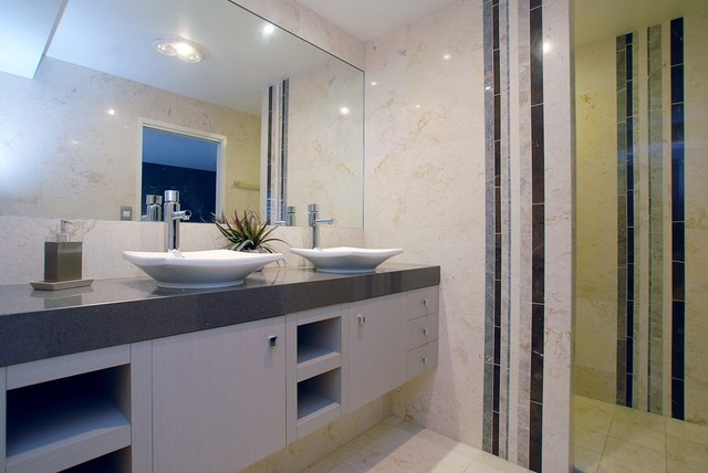 Interiors various contemporary bathroom brisbane for Bathroom designs qld