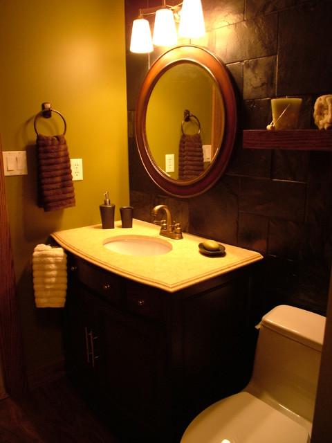 International bathroom reno eclectic-bathroom