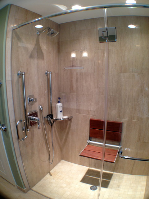 Invisia Collection Projects - Bath Safety Made Beautiful contemporary-bathroom