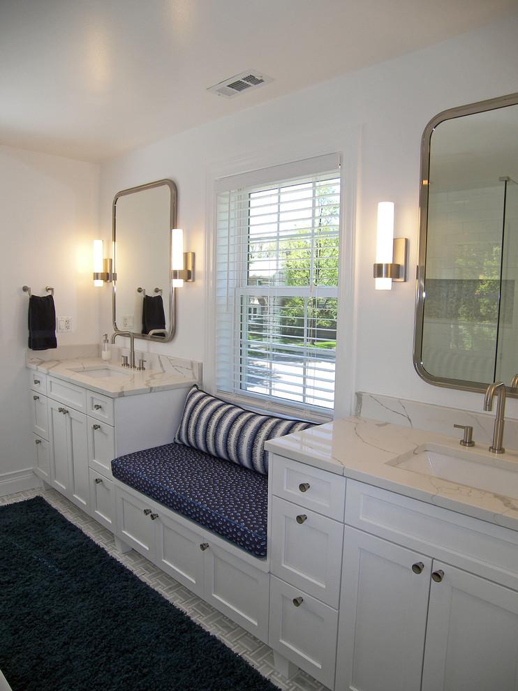 Inviting Edgebrook Home - Transitional - Bathroom ...