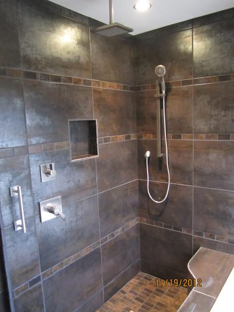 Iowa city master bath remodel for Bath remodel urbandale iowa