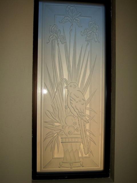Iris Perch Bathroom Windows Frosted Glass Designs