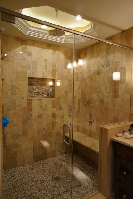 Irox Plank Set Shower Traditional Bathroom