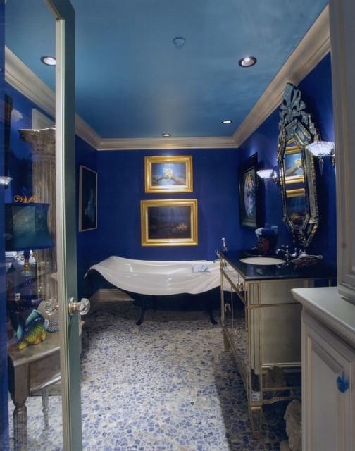 Irvine, California eclectic-bathroom